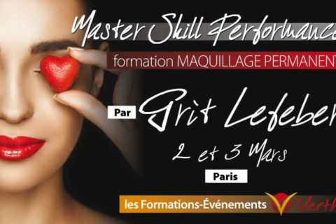 Master-skill Performance Maquillage permanent. Grit Lefeber