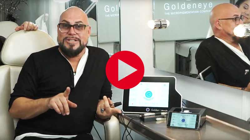 Vidéo Golden i touch 3 Maquillage permanent